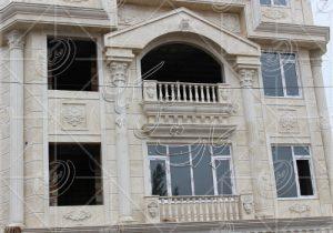 سنگ تراورتن سفید نمای داخلی و بیرونی